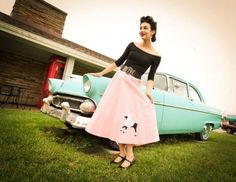 Poodle skirt! And love a Bel Air!