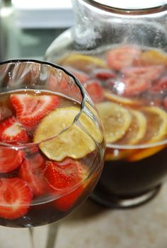 RE Vitality Drinks - 1 Points + and a Low Point Sangria Recipe! - LaaLoosh