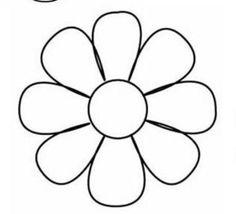 Molde de la flor del canasto.