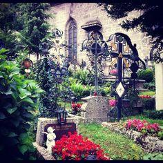 Cemetery in Salzburg