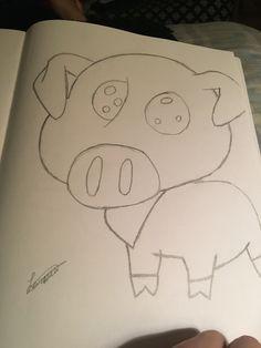 It's a pig