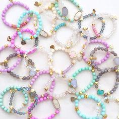 Dreaming of candy-colored bracelets. Shop @lovesaffect at @kkbloomboutique