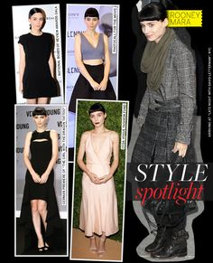 Style Spotlight: Rooney Mara - Celebrity Style and Fashion from WhoWhatWear