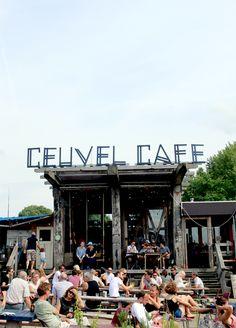 Amsterdam City Guide - De Ceuvel Café - LeBocalDeKloma.com