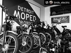 We are here today New Years Eve; 11-7.  We will be closed tomorrow New Years Day and will return to normal winter hours next Friday Jan 5th. So if you need some bits or just want to come see us - Today is the day.  #detroitmopedworks #todayistheday #seizetheday #carpediem #carpecarp #siezethecarp Photo Credit  @birds_electric