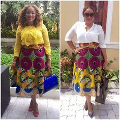 Kiki's Fashion: One skirt ,two ways