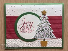 MariaStamps.com Peaceful Pines and Tin of Tags stamp sets