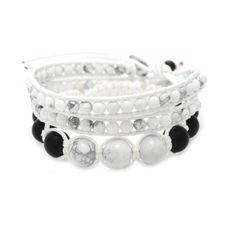 Pack de Bracelets blanc