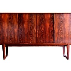 A Vintage Rosewood Buffet / Console 82 width