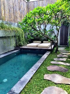 If you are considering installing a small pool in the garden, have it positioned…
