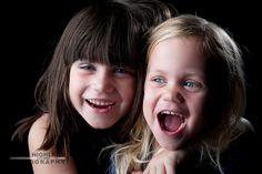 Dahlia and Sloane, sisters having fun.