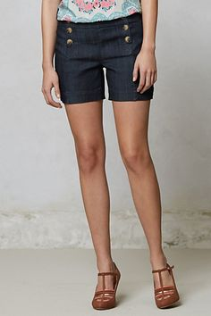 I like the shorts and the top.   Level 99 Sailor Shorts #anthropologie
