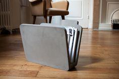 mindher:   Folder, Concrete Magazine Rack by Lyon...