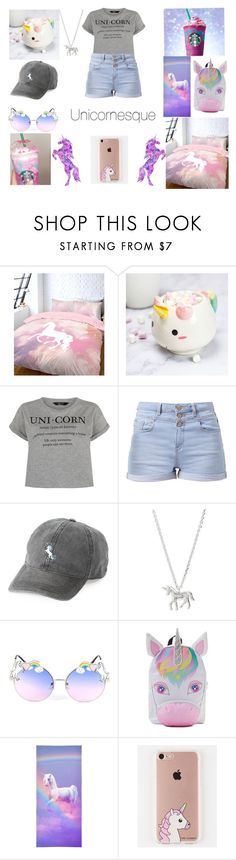 """Unicornesque"" by unicornofnetflix ❤ liked on Polyvore featuring New Look, Elodie, SO, Estella Bartlett and The Casery"