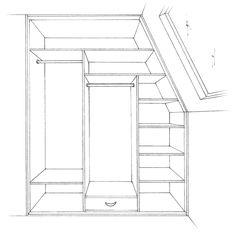 Tetőtéri és ferde beépített gardrób szekrények. A tetőterek és a lépcsők alatti helyek elsődleges jellemzője a ferde mennyezet, ami megnehezíti a bútorozásukat. http://drgardrob.hu/beepitett-szekreny/alakok-es-elrendezesi-lehetosegek/