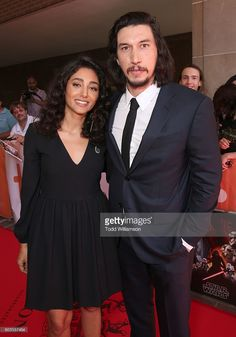 Golshifteh Farahani and Adam Driver attend the premiere of Amazon Studios'…