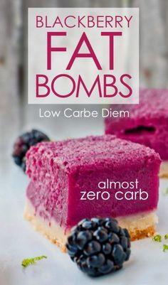 Blackberry Nut Fat Bomb Recipe