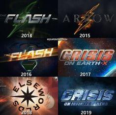 Crossovers / The Flash / Arrow / Supergirl / Legends of tomorrow Arrow Tv Shows, Dc Tv Shows, Supergirl Dc, Supergirl And Flash, Marvel Dc, Arrow Flash, Tommy Merlyn, Flash Tv Series, Flash Wallpaper