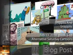 Alternative Saturday Cartoons - Week 05-16 - Helpful Tidbits