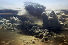 Clouds over the Maldives by Nattu