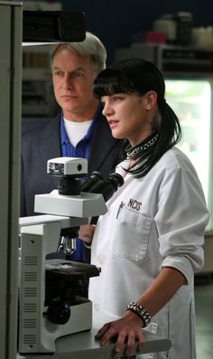 Gibbs and Abby. NCIS, lab, great tv series, show, photo