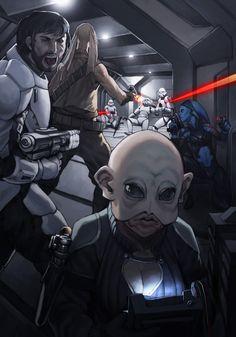 Star Wars- Outlaw Tech by UdonCrew.deviantart.com on @deviantART