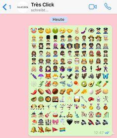 Endlich! Die neuen Emojis sind da und soooo cool!