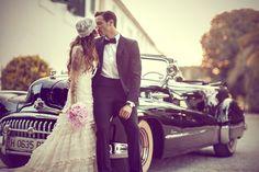 La preciosa boda de la Dj Marien Baker y Saoro Nadal #noviasreales #bodasreales #noviasYC #YolanCris #MarienBaker #boda