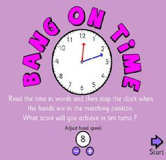 time games for Smartboard