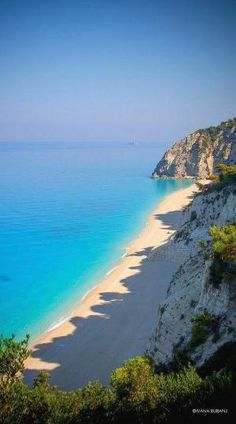 Egremni Beach, Lefkada Island, Ionian Sea, Greece by rachelpp