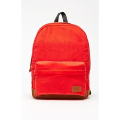 Vans Deana III Red School Backpack ($45) ❤ liked on Polyvore featuring bags, backpacks, padded backpack, backpacks bags, padded bag, knapsack bags and vans backpack