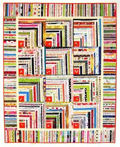 Selvage quilt pattern