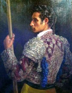 Matador. Obra de Alfonso Grosso Sánchez