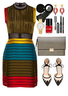 """""""Mary Katrantzou oriental dress"""" by thestyleartisan ❤ liked on Polyvore featuring Mary Katrantzou, Bionda Castana, Witchery, Glo Minerals, Crabtree & Evelyn, Bobbi Brown Cosmetics, Kate Spade and CelebrityWedding"""