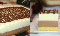 Csodakrémes, ha ezt egyszer megkóstolod, hetente el fogod készíteni! - Finom ételek, olcsó receptek Hungarian Recipes, Vanilla Cake, Tiramisu, Cheesecake, Deserts, Pudding, Pie, Sweets, Bread
