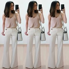 Na lida com anita - página: 3 - anita bem criada business work fashion в 20 Cute Office Outfits, Business Casual Outfits, Classy Outfits, Trendy Outfits, Summer Outfits, Fashion Outfits, Casual Chic, Look Office, Office Looks