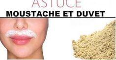 Astuce magique pour épilation définitive de la moustache et du duvet avec de la farine | Astuces pour femmes