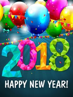 Send Free Fun New Year Party Card 2018 to Loved Ones on Birthday & Greeting Cards by Davia. It's 100% free, and you also can use your own customized birthday calendar and birthday reminders.