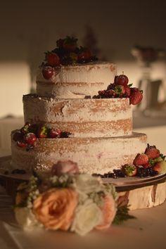 Ponqué rústico! #weddingcake #rusticweddingcake