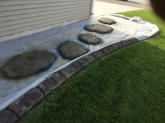 Landscape Edging Borders, Landscape Curbing, Stepping Stones, Outdoor Decor, House, Ideas, Home Decor, Style, Swag