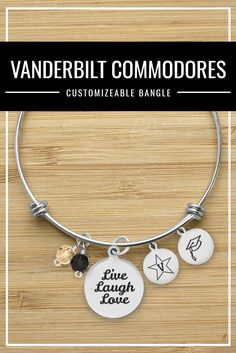 College Jewelry Wright State University Raiders Stainless Steel Adjustable Bangle Bracelet with Rose Gold Plated Heart Charm