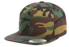 aea28294 Flexfit Yupoong Premium Classic Snapback Limited Edition Camo. Custom  Baseball HatsBaseball CapCustom ...