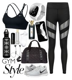 A fashion look from June 2017 featuring nike sports bra, sport shoes and zipper bag. Casual Sporty Outfits, Cute Lazy Outfits, Teen Girl Outfits, Cute Swag Outfits, Girls Fashion Clothes, Teen Fashion Outfits, Athletic Outfits, Outfits For Teens, Sport Outfits