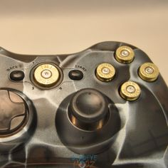 DeadEye Modz Inc. - Xbox 360 Controller ABXY   50AE Guide Bullet Buttons BRASS with Nickel Primers, $14.99 (http://deadeyemodz.com/xbox-360-controller-abxy-50ae-guide-bullet-buttons-brass-with-nickel-primers/)