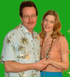 Walter White with his wife Skylar. This is how Walt is first shown and where he is percieved as typical and non-threatening. He appears to be a normal middle aged man with no worries.