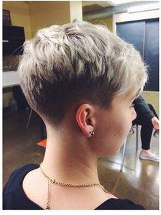 Frisuren für kurzes Haar - 16-