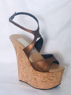 38f3327f762 673 Best wedges cork wood images in 2019 | Heels, Hot high heels ...