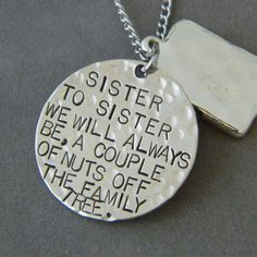 Thinking about getting a couple of these for my sisters! ...or is it just too cheesy!?