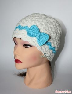 Осенняя шапка для девочки