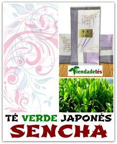 ¡¡Desde Japón y envasado en papel de arroz y seda ya disponible en www.tiendadetes.com el mejor Té Verde Sencha!! #TéVerde #Japón #Sencha #Tea #TeaTime